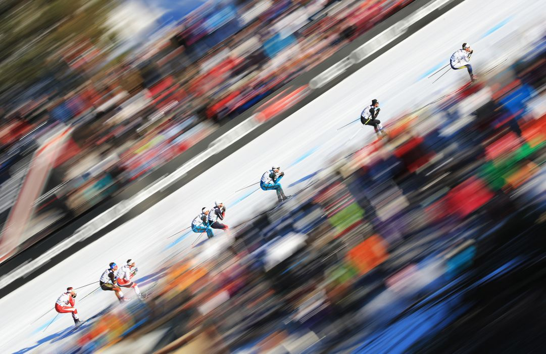 competes in the Men's Cross Country Mass Start during the FIS Nordic World Ski Championships on March 5, 2017 in Lahti, Finland.