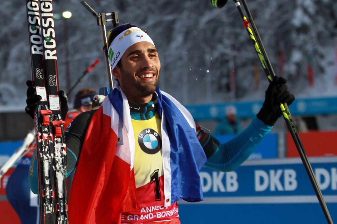 Il mondo dello sport omaggia Martin Fourcade