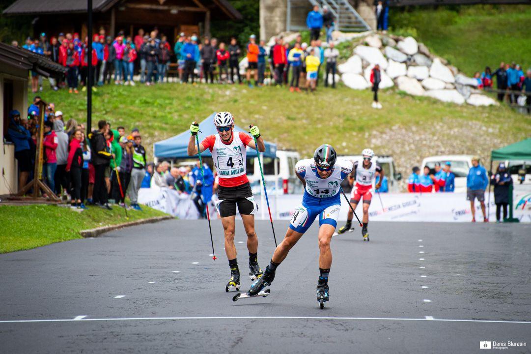 Greta Laurent e Francesco De Fabiani vincono la sprint dei campionati italiani estivi di Forni Avoltri