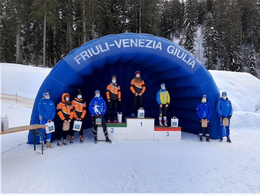 Sci Club Entracque e Asd Anterselva grandi protagonisti a Forni Avoltri delle sprint dei Campionati Italiani Aria Compressa