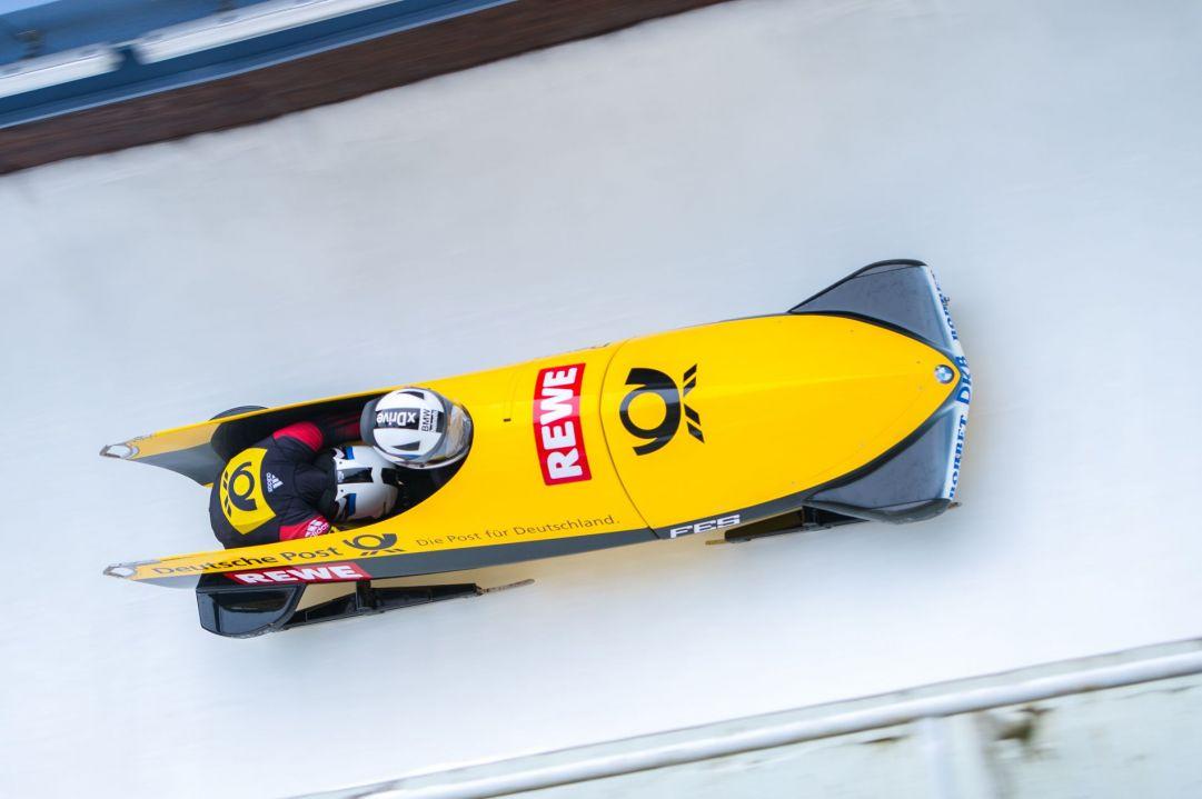 Storico podio coreano ad Altenberg nella gara dominata da Francesco Friedrich. Bertazzo 14mo