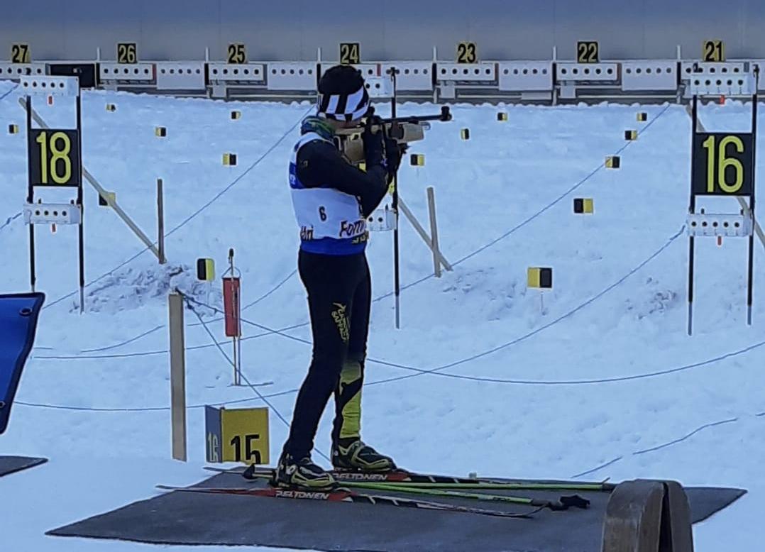 L'ovarese Desiree Ribbi medaglia d'argento a Forni Avoltri nell'inseguimento dei Campionati Italiani ad aria compressa