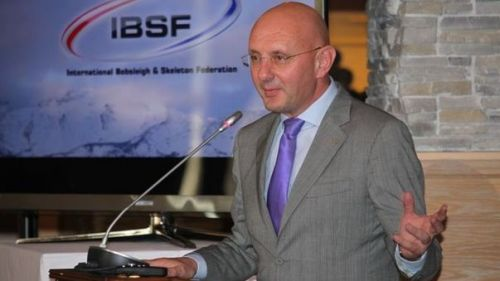 L'italiano Ivo Ferriani presidente della IBSF diventa membro del CIO