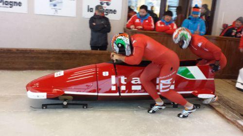 Simone Fontana e Costantino Ughi sono i nuovi campioni italiani di bob. Bertazzo assente