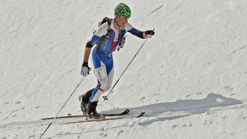 Damiano Lenzi terzo nella Vertical Race della Mondolè Ski Alp