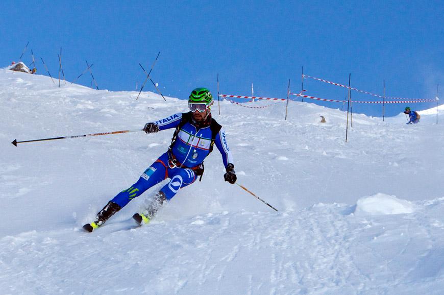 Antonioli, Balzarini, Boscacci e Ghirardi si laureano campioni italiani di sci alpinismo a Madonna di Campiglio