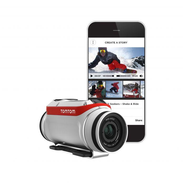 TomTom lancia Bandit la telecamera destinata a rivoluzionare il mondo delle action cam
