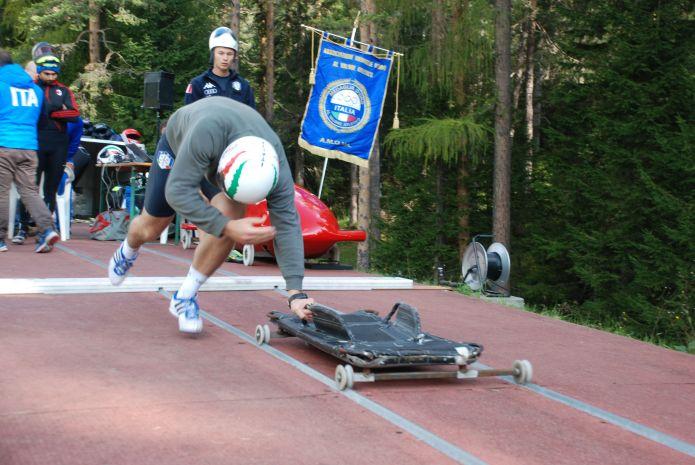 Famengo e Gallina vincono ex-equo i campionati italiani di spinta. Valentina Margaglio si impone tra le donne