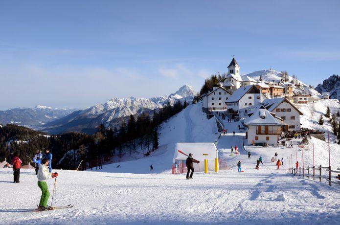 Sabato 5 dicembre si apre la stagione sciistica del Friuli Venezia-Giulia