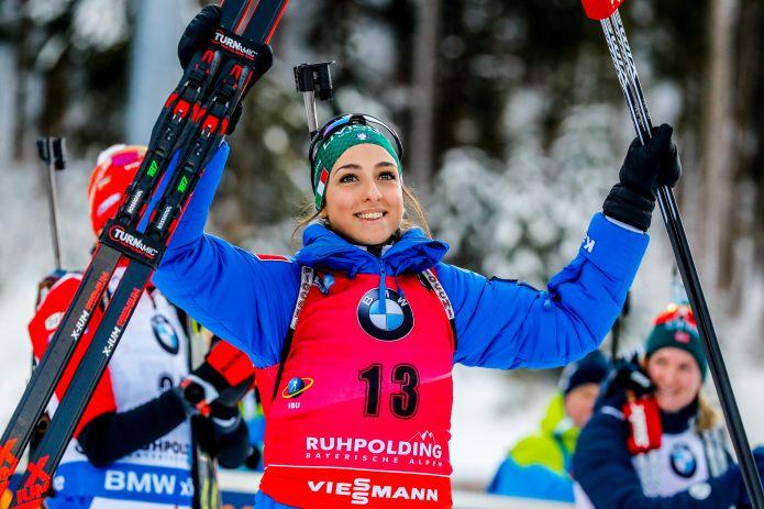 Lisa Vittozzi è argento nell'individuale dei mondiali di Oestersund dietro alla svedese Oeberg!