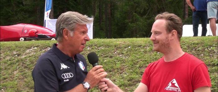 Longo: 'Cortina sarà l'hub naturale per rilanciare il bob e lo skeleton italiano'