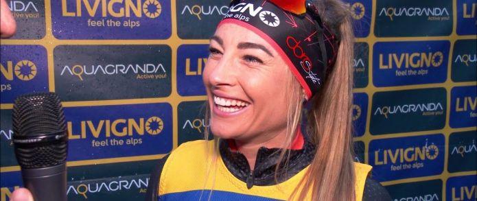 Dorothea Wierer: 'Bello ritrovare il feeling invernale sulla neve di Livigno'