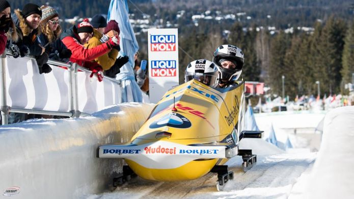 Mariama Jamanka riporta in Germania il mondiale di bob femminile