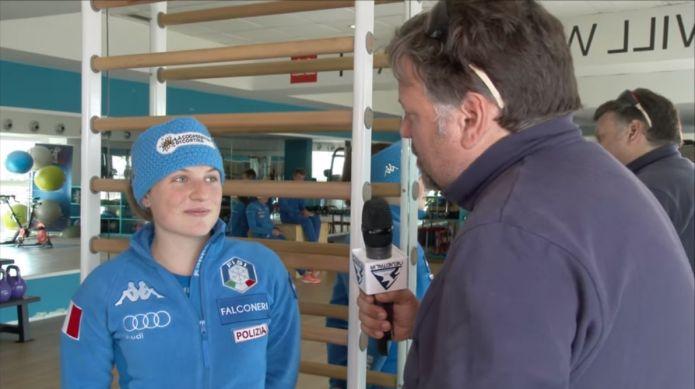 VIDEO - Anna Comarella: 'Per noi giovani è molto importante far parte della squadra di Coppa del Mondo'