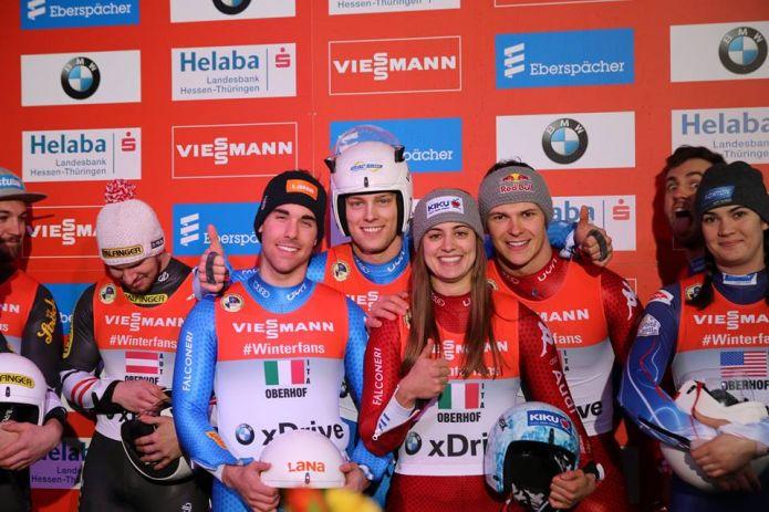 L'Italia si aggiudica ad Oberhof il primo titolo europeo nel Team Relay