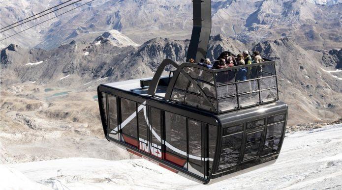 Inaugurata a Tignes la funivia a cielo aperto più grande del mondo