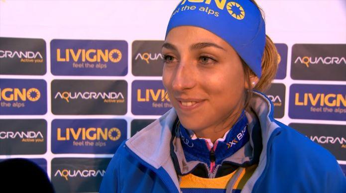 Lisa Vittozzi:'Ho avuto un piccolo problema fisico ad inizio stagione che sto cercando di risolvere al meglio'