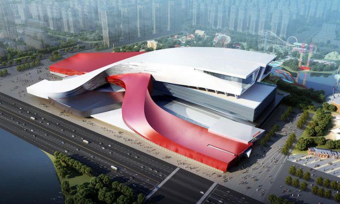 Ad agosto in Cina si inaugura lo skidome più grande del mondo