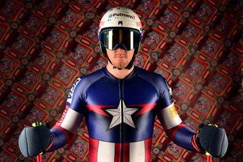 Una tuta da Capitan America per gli americani che lanciano la sfida olimpica ai principali avversari