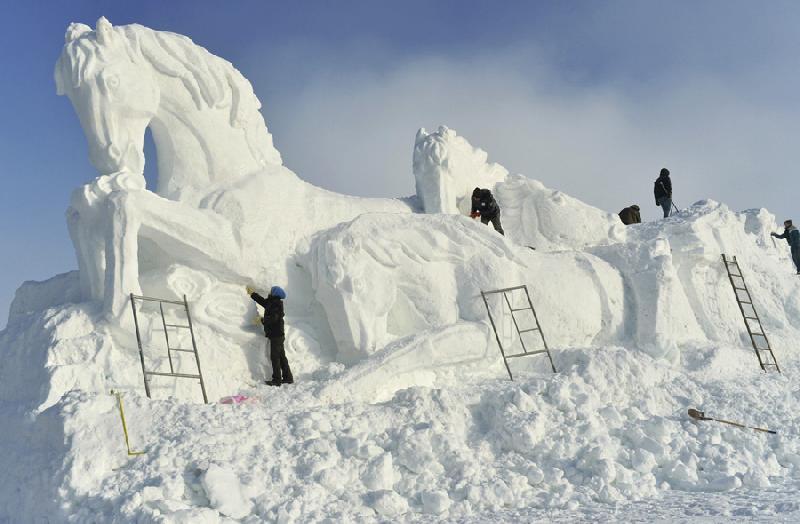 A febbraio Pontebba diventerà la capitale delle sculture di ghiaccio
