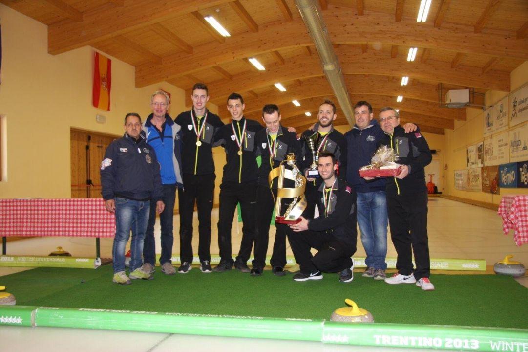 Il Trentino Curling allunga a 7 la serie di titoli italiani