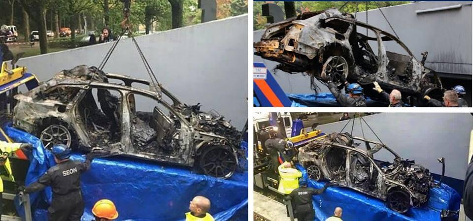 In fumo l'Audi R6S da mezzo milione e 1000 cavalli che fu di Jon Olsson