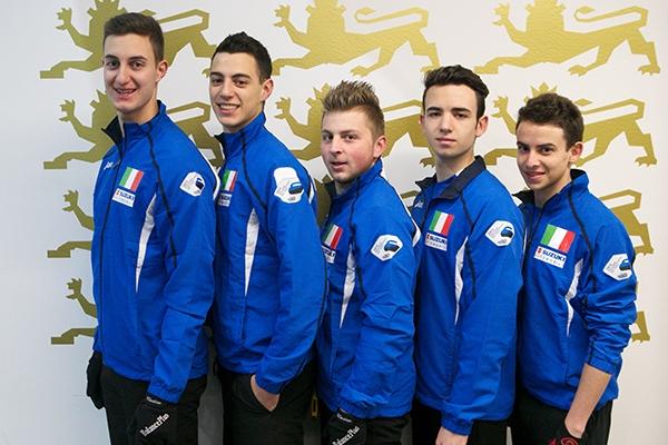 Passo falso dell'Italia di Mosaner all'esordio nei Mondiali di Tallinn
