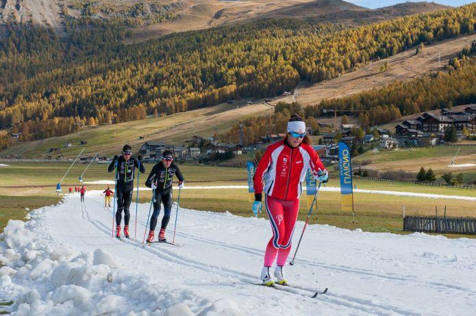 Livigno sempre in pole position: apre oggi a tempo di record l'anello dello sci di fondo
