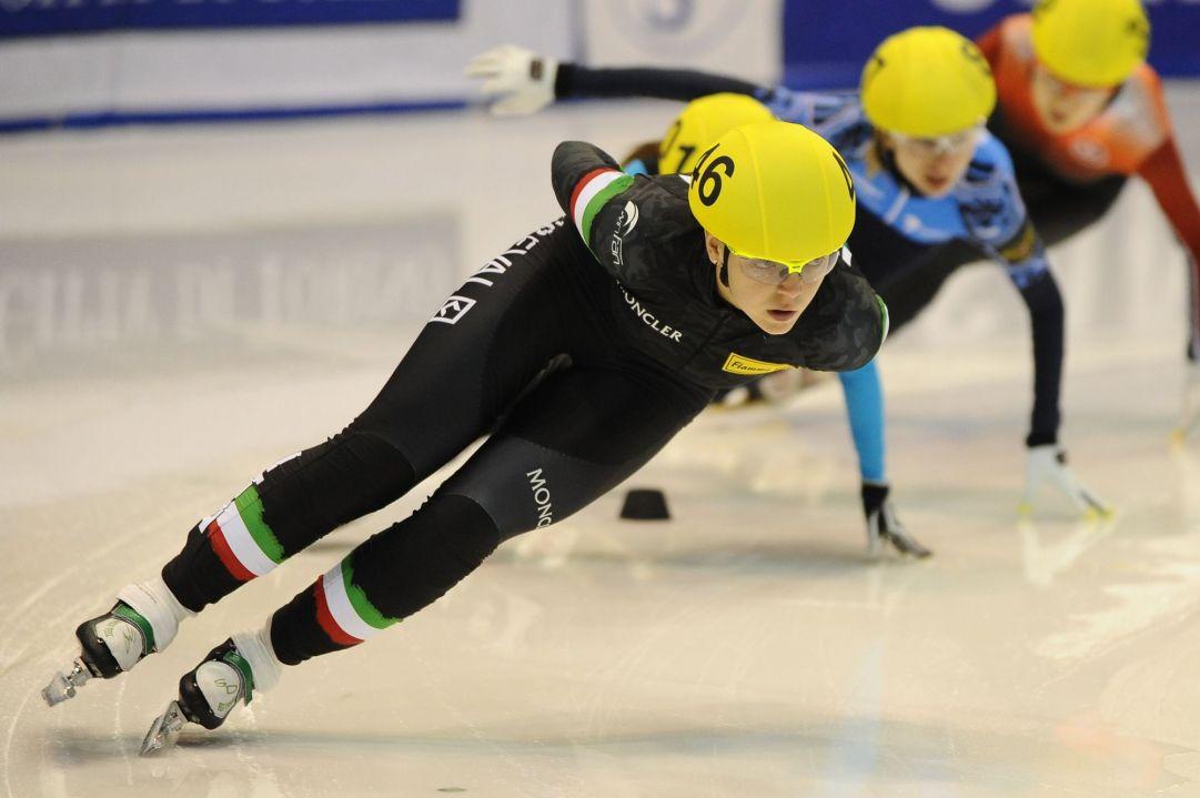Arianna Fontana racing in Torino (Francesco A. Armillotta©)
