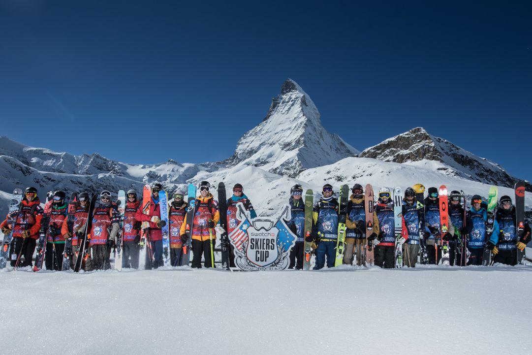 Zermatt scalda i motori per la Swatch Skiers Cup 2015. Chi la spunterà tra America ed Europa?