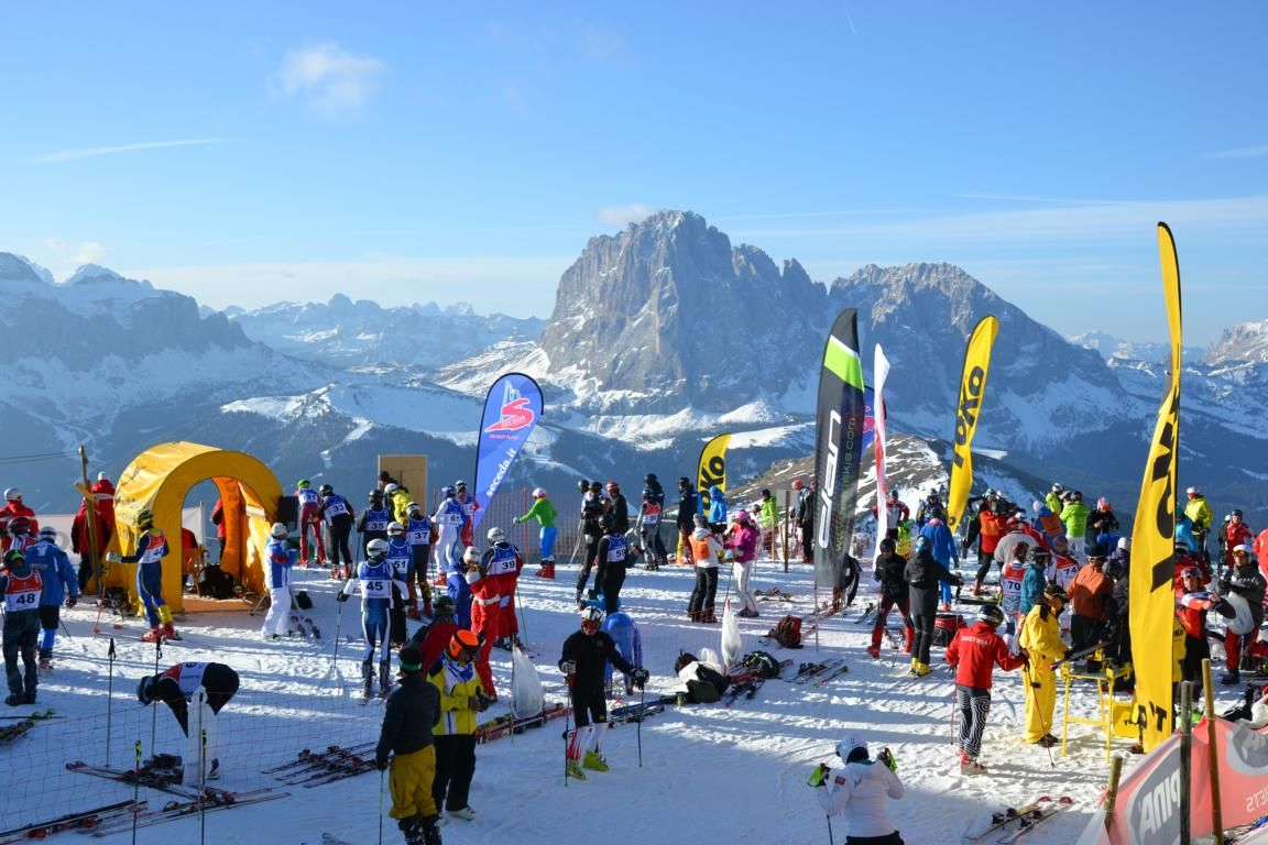 Lo slalom gigante più lungo del Mondo