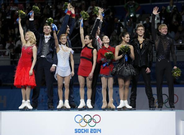 La Russia domina la prima gara a squadre olimpica nella storia del pattinaggio di figura