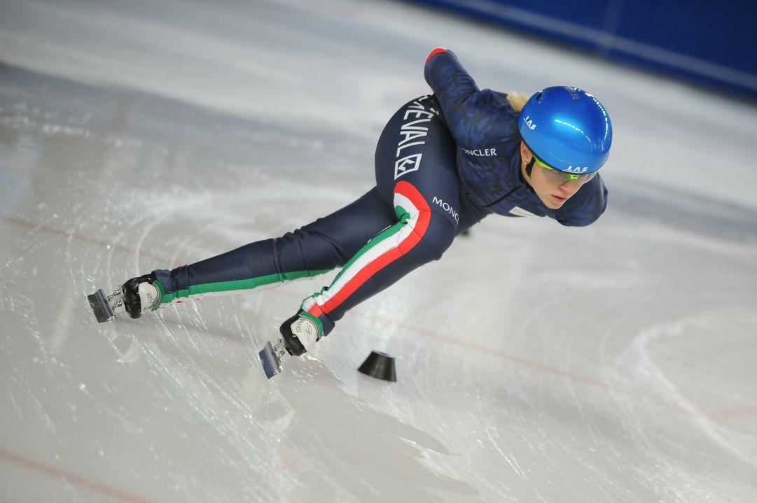 Arianna Fontana raddoppia in Coppa: l'azzurra si prende l'argento nei 500