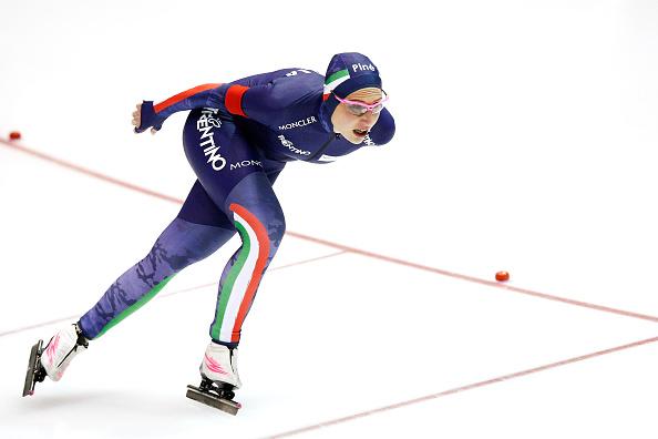 Francesca Lollobrigida parte bene a Salt Lake City: migliorato il record italiano nei 5000 metri