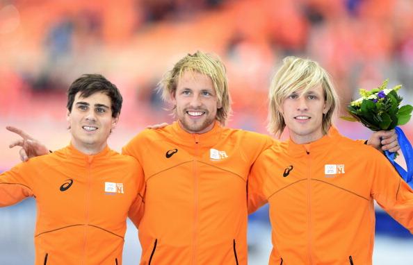 Storico tris Olanda nei 500. I gemelli Mulder sul podio: Michel è oro, Ronald bronzo