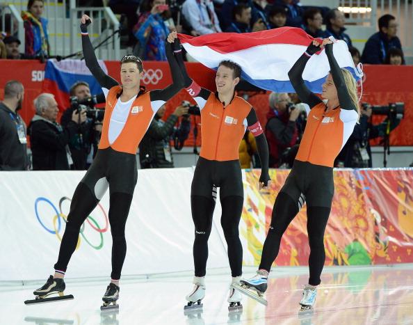 En plein arancione. L'Olanda chiude con altri due ori nell'inseguimento a squadre