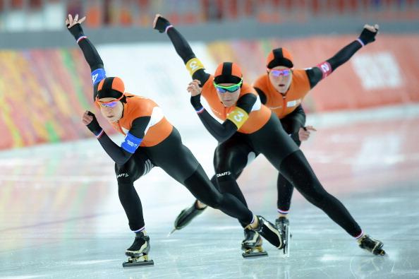 Inseguimento a squadre: gli olandesi avanzano per la consacrazione. Usa, è flop totale