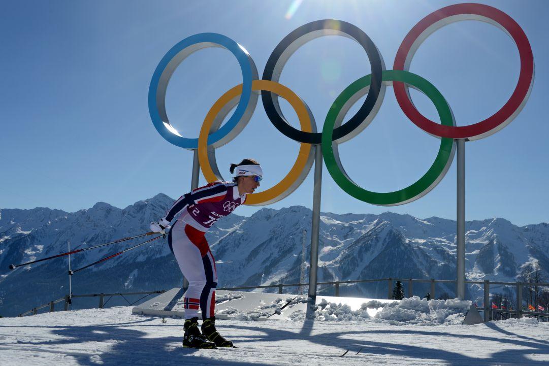 È di Marit Bjørgen il primo oro dello sci di fondo a Sochi