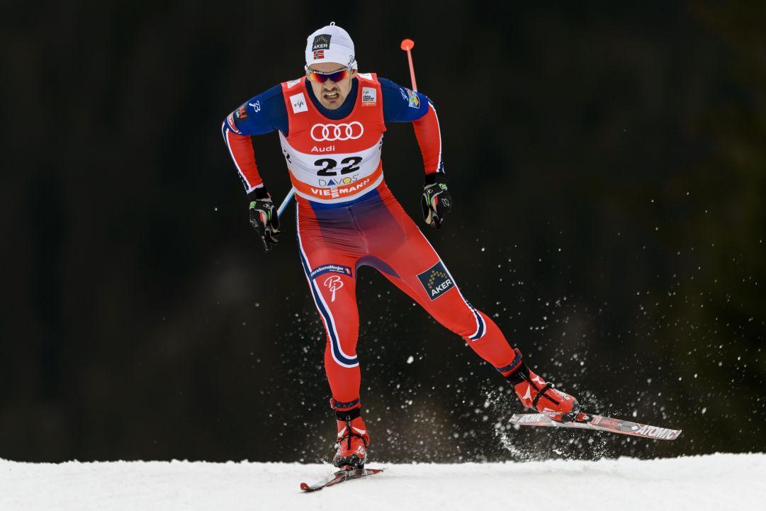 Sondre Turvoll Fossli miglior tempo nelle qualificazioni della Sprint di Davos