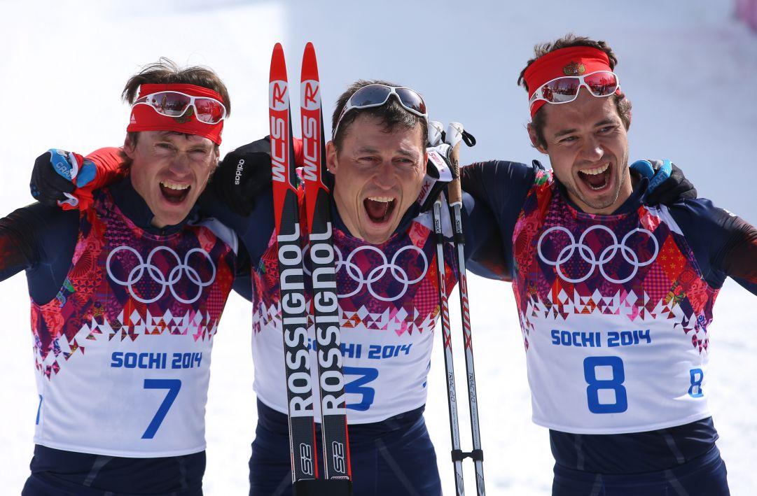 Tripletta russa nella 50 km di Sochi, oro ad Alexander Legkov