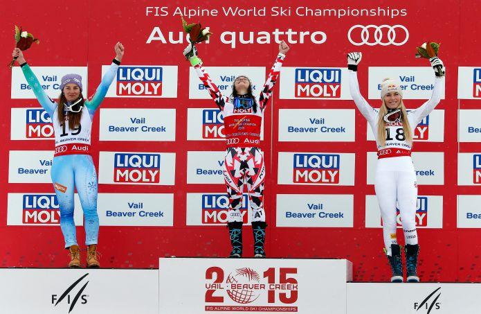 SuperG femminile St. Moritz 2017 - Storia e statistiche