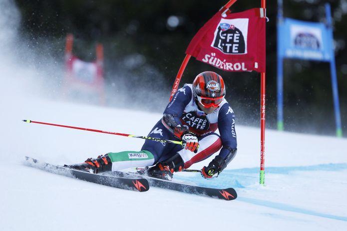 Florian Eisath terzo dopo la prima manche del Gigante dell'Alta Badia vinta da Marcel Hirscher