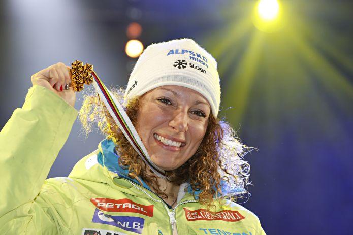 Discesa femminile di Aspen, Štuhec per la doppietta oro-coppetta