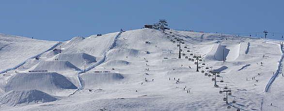 Snowpark Mottolino!