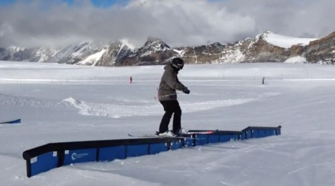 Primo giorno di freeski a Zermatt con Alessandro Bianchetti