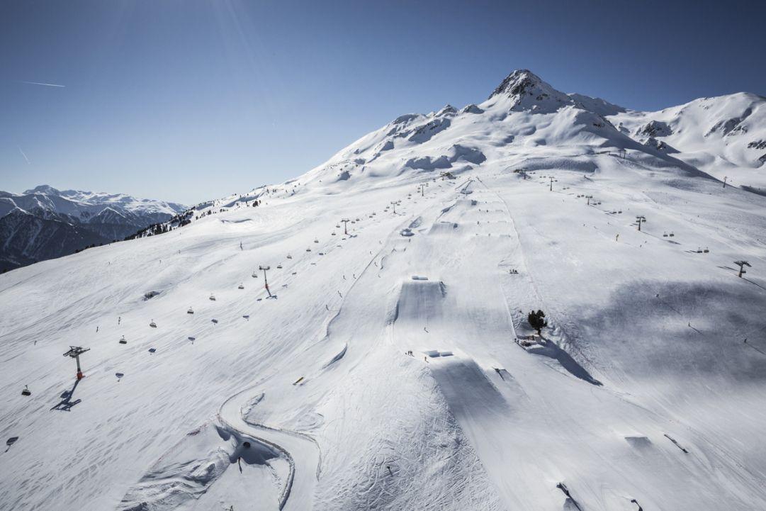 In Alta Val Venosta vi aspetta il nuovo setup dello snowpark Schöneben