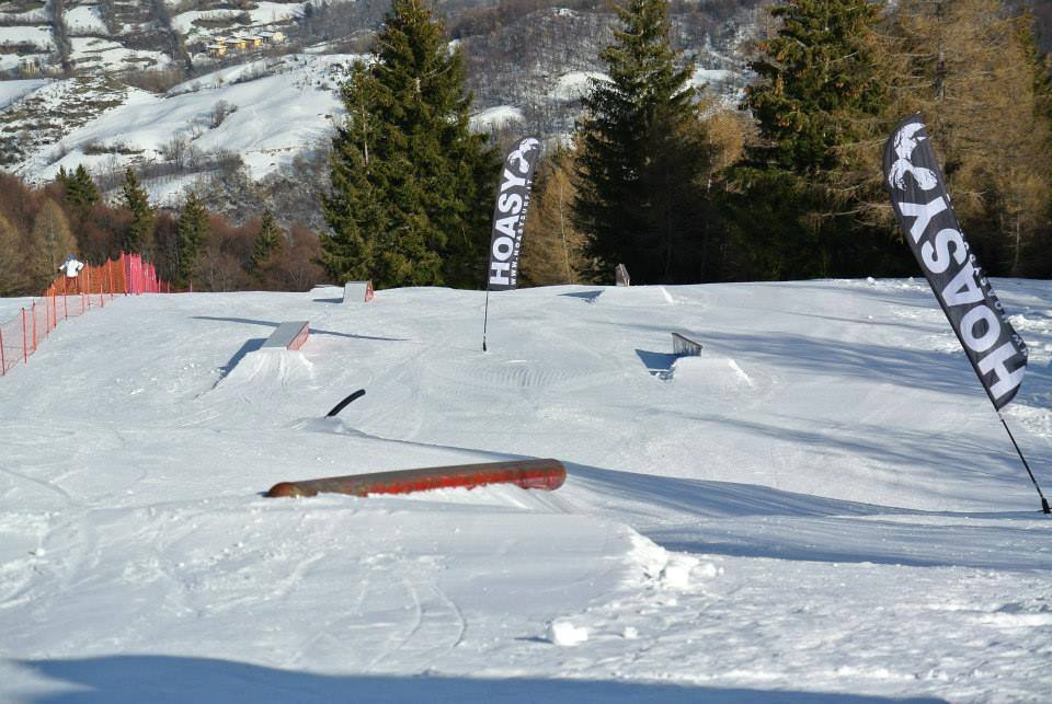 All'Abetone c'e: Snowpark Gravity-Pulicchio