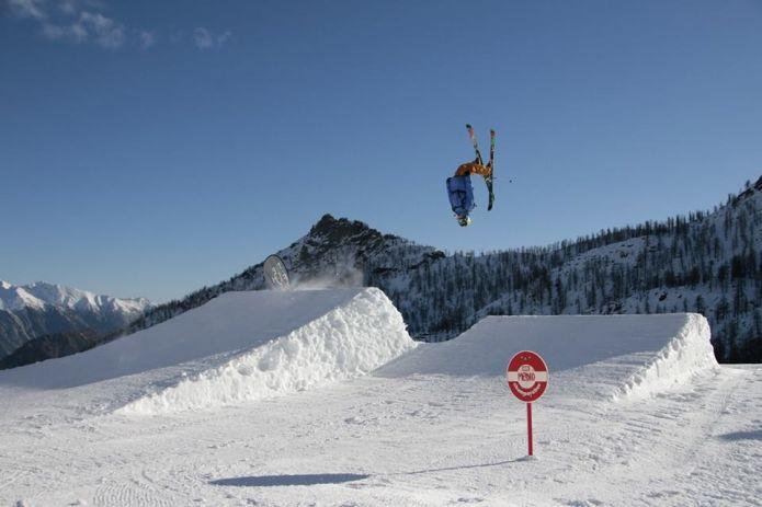 The High Five Park nel cuore di Monterosa Ski