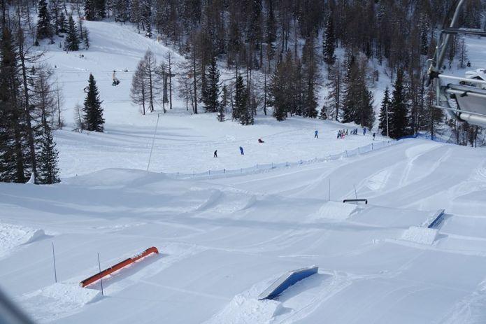Marilleva Snowpark: il piccolo gioiello della Val di Sole