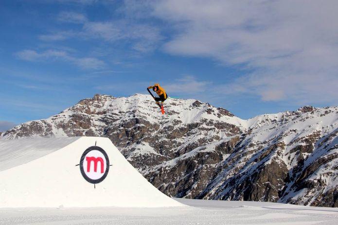 Snowpark Mottolino aperta la linea L e XL